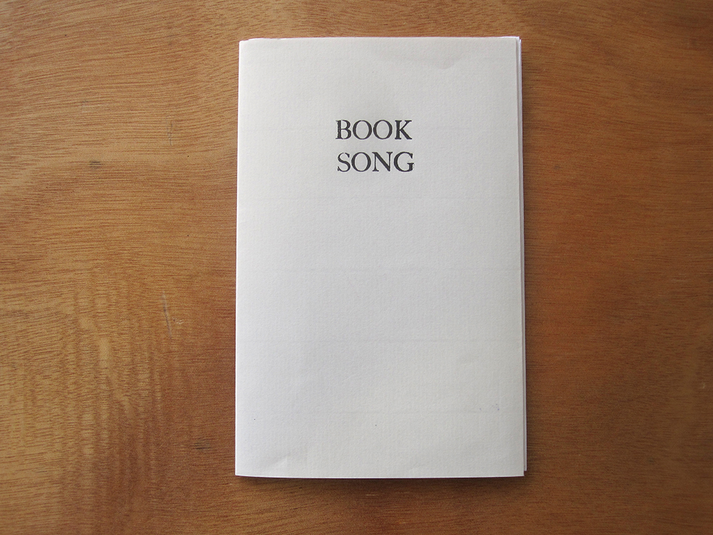 booksong artist book cover